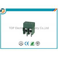 Buy cheap Pitch 5.0mm PCB Screw Terminal Block Connector 2 PIN Green Color from wholesalers