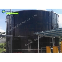 Buy cheap 12mm Glass Fused To Steel CommercialWaterTanks product