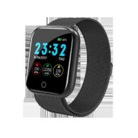 China Fashionable Fitness Tracker Smart Watch High Definition Black / Pink Color on sale