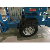 Buy cheap 10m Hydraulic Truck Mounted Aerial Lift Dual Mast For Outdoor Maintenance Work product