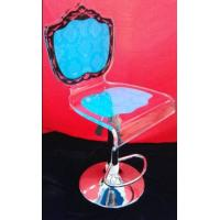 Buy cheap Colorful Modern Acrylic Furniture / Acrylic Chair With Rolling Base product