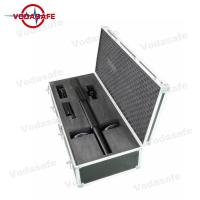 Buy cheap Flight Control Mobile Phone Signal Jammer 2.4G 5.8G Controlled UAV Drones Applied product