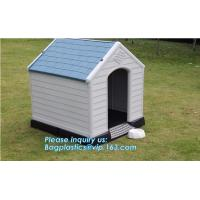 Wholesale luxury pet kennel igloo dog bed house, dog/cat/pet house/large wooden plastic dog house, waterproof pet house
