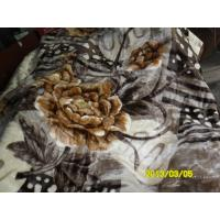Buy cheap Winter Printed Breathable Soft Mink Blanket Queen Size With 100% Polyester product
