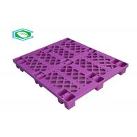 Buy cheap 18 Feet Grid Shaped Single Faced Pallets Lightweight Plastic Pallets In Warehouse product