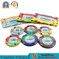 Buy cheap :High-density Environmental Protection Casino Ceramic Code Manufacturers Design Custom Gambling Ceramic Chip Accept pers product