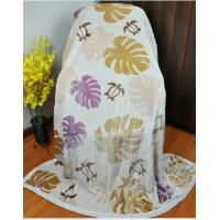 Buy cheap Double Printed 100% Modal Blanket For Home / Airplane 150X220CM product