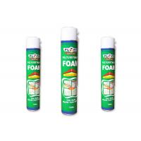 Buy cheap Waterproof Polyurethane PU Foam Spray 750ml Heat Preservationcold And Sound Insulation product