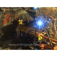 Quality Separated Type Underground Core Drill Rig 75kw Motor Power For Stratum Situation for sale