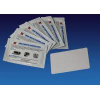 Regular Cleaning Card Kit Zebra Printer Cleaning Kit 104531 001 White Color 54mm * 86mm
