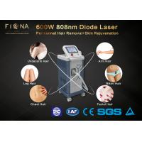 Quality 600W Diode Laser Machine , Spa Use Skin Rejuvenation Machine With Cooling System for sale