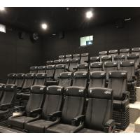 Buy cheap Fantastic Simulating 4D Cinema System With Physical Effect For Business Center product
