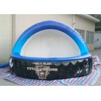 Buy cheap Customized Inflatable Bar Tent 0.4 Mm PVC Tarpaulin Two Door For Display product