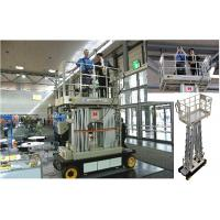 Buy cheap Four Mast Scissor Lift Work Platform Self Propelled 10m For Office Buildings product