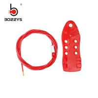 Buy cheap 2M Adjustable Cable Lockout Device Easy To Operate With Galvanized Non Rust Material product