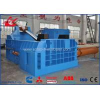 Buy cheap 250 Ton Side Push Out Hydraulic Metal Baler Scrap Steel Baling Press Machine CE Certificated product