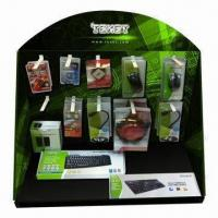 Buy cheap Cardboard PDQ Display Stand, Customized Designs and Logos Welcomed product