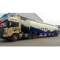 China V Type Powder Concrete Mixer Trailer With 50 Tons Loading Tons 50m3  11000*2500*4000 mm on sale