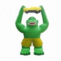 Buy cheap Inflatable Gorilla, Customized Shapes, Colors and Sizes are Accepted from wholesalers
