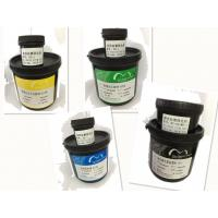 Buy cheap Colorful PCB Printing Ink Liquid Thermal Curable Solder Mask With 77-120T Screen Mesh product