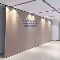 Buy cheap Conference Room Sound Proof Operable Partition Walls With MDF + Aluminum from wholesalers