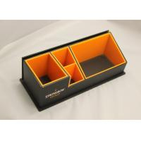 Buy cheap 3mm Clear Simple Acrylic Office Stationery Holder With Notes Box product