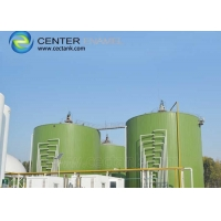 Buy cheap GFS roof Bolted Steel tanks For Wastewater Treatment Plant Industrial Process Equipment product