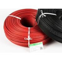 Buy cheap TUV CE CQC Black and Red Single Core Solar Cable 4mm2 for solar power system from wholesalers