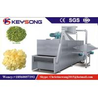 Buy cheap Steam / Electric Mesh Belt Dryer For Vegetables Fruits , Chili Dryer product