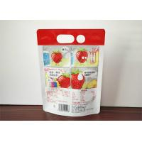 Buy cheap Transparent Bag Standing Up Spout Pouch Clear Drink Stand Up Spout Pouch Juice from wholesalers