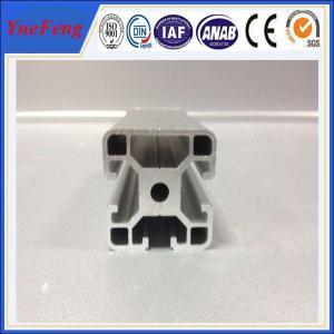 Buy cheap 3D printer parts T slot aluminium extruded sections aluminium frames profile 2020,4040 product