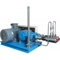 Buy cheap Steel Blue Color High Efficiency Automatic Cryogenic Liquid Pump For L-CNG Cylinders Filling product