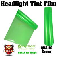 Buy cheap Car Headlight Tint Film 3 layers 0.3*10m/roll - Green product