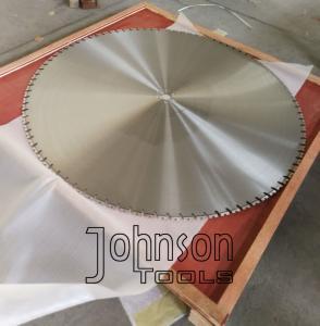 Buy cheap 64 Inch 1600mm Wall Saw Blades Big Diamond Reinforced Concrete Wall Cutting Saw product