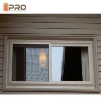 Buy cheap Sound Proof Aluminum Alloy Sliding Windows Black Or Grey Color product
