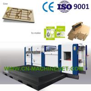 China Carton box making machine manufacturer,die cutting hot stamping creasing stripping,high precision,durable on sale