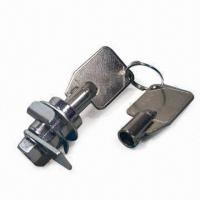 Buy cheap Lever Lock with Brass Key in Nickel Plating with 20-combination Capacity product