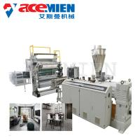 Buy cheap Sheet Board Extrusion Wall Panel Machine , Artificial Marble Production Line PVC Faux product