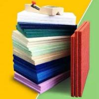 Buy cheap Polyester Fiber Acoustic Wall Panels Acoustic Ceiling Panels White / Blue / Green from wholesalers