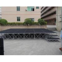 China Anti-slip Layer Scaffolded Stage Roof Event Truss Weather Resistant on sale