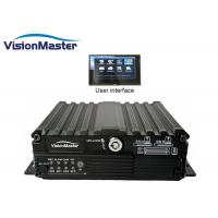 Buy cheap Durable Automotive Dvr Recorder HD Car 720p 4CH 4G Embedded Linux CE Approval product