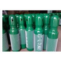 Buy cheap Green / Blue 34CrMo4 High Purity Compressed Gas Cylinder 200BAR 5.2mm Thickness product