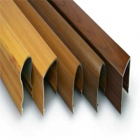 Buy cheap Wood Transfer 4mm ISO Standard Aluminium Extrusion Profiles product