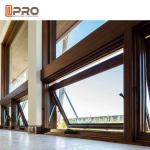 Buy cheap Thermal - Break Aluminium House Awning Windows Vertical Air - Proof Anti - Aging product