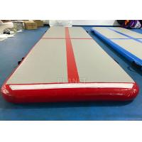 Buy cheap Home Inflatable Air Track PLG-047 PVC Tarpaulin Sides Easy Installation product