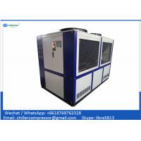 Buy cheap Farming Industry 30RT Industrial Air Cooled Poultry Water Chiller for Poultry Hatcheries product