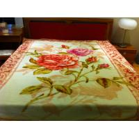 Buy cheap 100% Acrylic Super Soft Blanket With Pink Double Printed 180X230CM product
