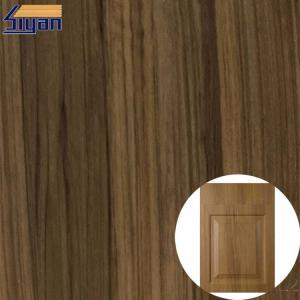 Buy cheap 1260mm PVC Wood Grain Vinyl Furniture Film For Door Decoration product
