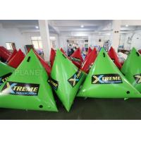 Buy cheap 1.5m Airtight Triathlon Inflatable Triangle Buoy With D Rings Customized Size product