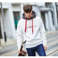 Buy cheap 2019 Men's New Latest Design Fleece Hoodie on with Check Hood Design product